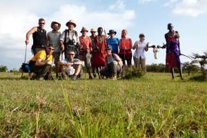 Grupo con Masai