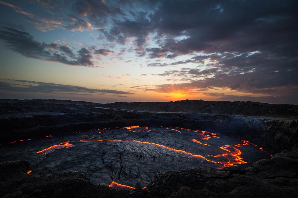 Erta Ale Volcan, Etiopia (Kananga)