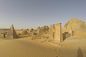 Meroe pyramids